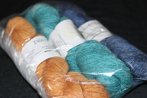 Wollpaket Drachenwolle Lace 300gr