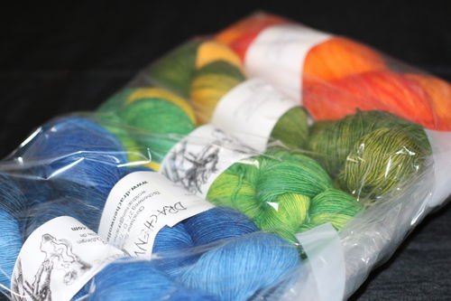 Wollpaket Drachenwolle Lace 500gr